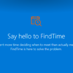 FindTime – et Office365-alternativ til Doodle